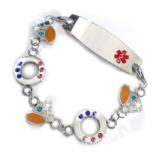 Darling Stainless Medical ID Bracelet
