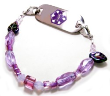 Grape Kool Aid Medical Bracelet