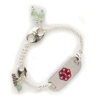 Leaves Medical Alert ID Bracelet
