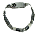 Bad To The Bone Medical Bracelet