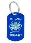 Medical Alert ID Keychain-ICOE
