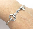 Key to My Heart Medical ID Bracelet