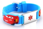 Kids Cars Medical ID Bracelet