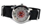 Adjustable Medical ID Watch 3640