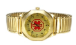 Lady's Gold Medical ID Watch