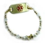Champagne Mist Medical ID Bracelet