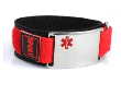 Kid's Medical Alert ID Sports Band