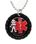 Force Trooper Red Necklace