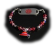 Red Hat #5 Medical Bracelet