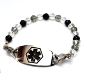 Crystal Shades Medical ID Bracelet