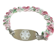 Spring Flowers Medical ID Bracelet