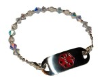 Stardust Medical Alert ID Bracelet