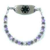Violet Bliss Medical ID Bracelet