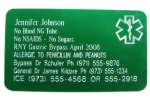Premium Medical ID Wallet Card - OF