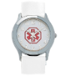 Lady's White Medical ID Watch 653W