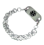Celtic Chain Mail Bracelet