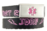JDRF Medical ID in Pink