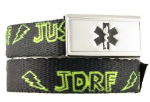 JDRF Medical ID in Yellow