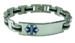 The Gentleman Medical ID Bracelet