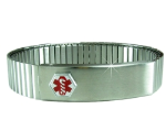 Expandable Medical Bracelet for Men