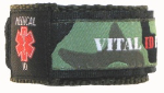 Medical ID Sports Band Camo