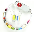 Rainbow Delight Medical ID Set