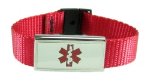 Red Medical Sports Band