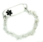 Tiny Hearts Medical ID Bracelet