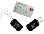 Combo Set Card Key Chain Necklace - SOL