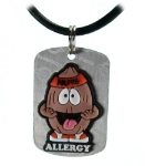 Tree Nut Allergy Necklace or Charm