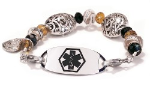 New Orleans Medical ID Bracelet