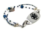 Bits and Pieces Medical ID Bracelet