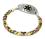 Bitty Hawaiian Medical ID Bracelet
