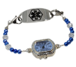 Blue Ice Medical ID Watch