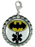 Hero Medical ID Charm