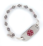 Shadow Medical Alert ID Bracelet
