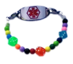 Roll the Dice Medical ID Bracelet