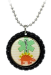 Dinosaur Medical ID Necklace 4