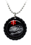 Dinosaur Medical ID Necklace 9