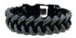 Black and Grey Paracord USB