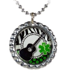 Guitar Medical ID Necklace 2