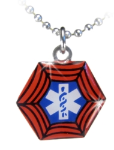 Super Hero #3 Medical Necklace