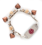 Hearts Delight Medical Alert ID Bracelet