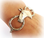 A Lucky Horse Medical ID Bracelet