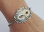 Belle of the Ball Mask Medical ID Bracelet