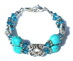 Nizhoni Blue Medical Bracelet
