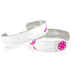 Pink Awareness Medical ID Cuff