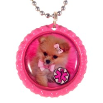 Lil Pup Medical ID Necklace for Girls