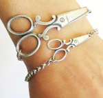 Small Scissors Medical ID Bracelet