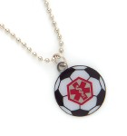 Soccer Ball Medical Alert ID Necklace